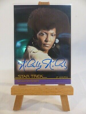 Star Trek movies In Motion autograph card A60 Nichelle Nichols Lieutenant Uhura