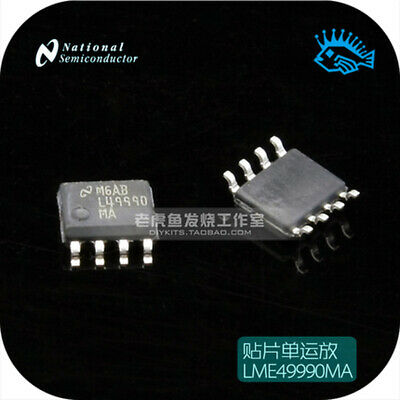 1/5pcs NS LME49990MA Reference SMD Single Op Amp SOP8 SOIC8