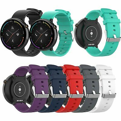 Silicone Watchband Straps Replacement Wrist Band for Huami Amazfit 2 A1807 Watch