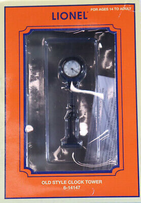 Lionel Old Style Clock Tower Turn-of-the cuntury Styling #71-4147-200 #6-14147U