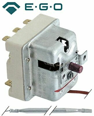 Safety Thermostat Switch-Off Temp. 245°C 3-Pole 20A Probe D 4Mm Probe L 120Mm