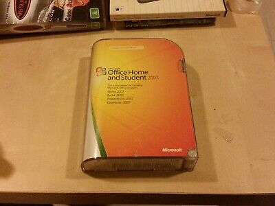 Microsoft Office Home And Student 2007 - Limited Uses Remaining
