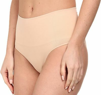 SPANX Women's Everyday Shaping Seamless Panty Soft Nude 1X Plus