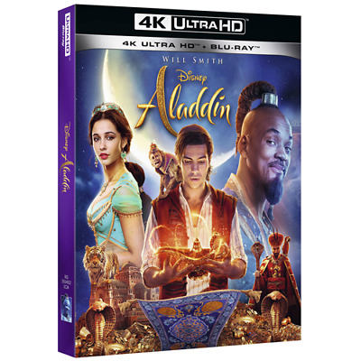 Aladdin (Live Action) (4K Ultra Hd+Blu-Ray)  [Blu-Ray Nuovo]