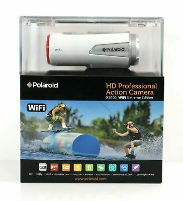 NEW SEALED  Polaroid professional action camera xs100i wifi edition