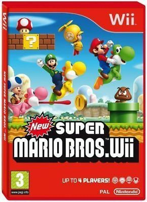 New Super Mario Bros. for Nintendo Wii - MINT - Same Day Dispatch - FAST DELIVER