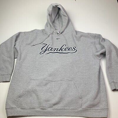 low priced 85419 0bd41 NEW YORK YANKEES Hooded Sweat Shirt Cotton Hoodie Adult ...