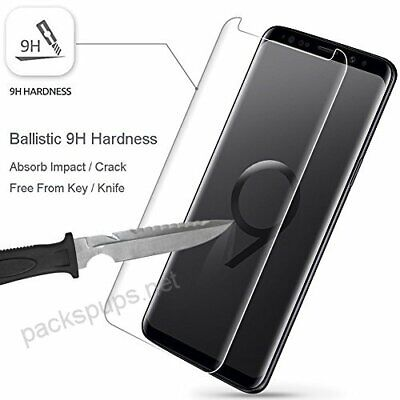 For Samsung Galaxy note9/S9 +/s10 PLUS Tempered glass screen protector case 9H