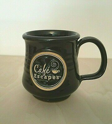 Vintage Deneen Pottery Cafe Escapes Hand Thrown Pottery Coffee Mug Cup 2012 USA