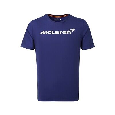McLaren F1 Men's Official Essentials T-Shirt - 2019 - Burton Blue