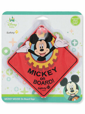 Disney Mickey Mouse On-Board Sign