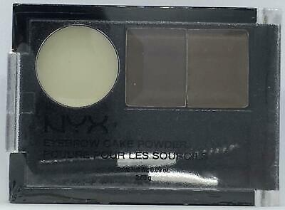 NYX Eyebrow Cake Powder ECP02 Dark Brown/Brown