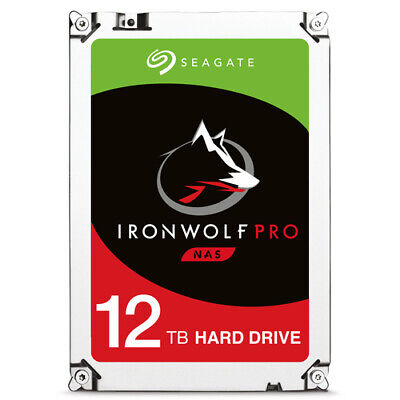 "Seagate - IronWolf Pro ST12000NE0007 - Festplatte - 12 TB - intern - 3.5""  NEW"