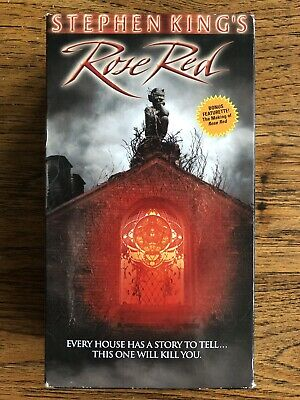Rose Red VHS Horror 2 Tape Set Stephen King Trimark Nancy Travis