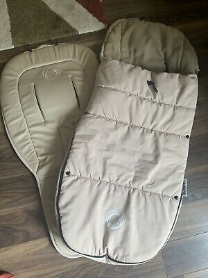 Bugaboo Sand Footmuff And Matching Seat Liner