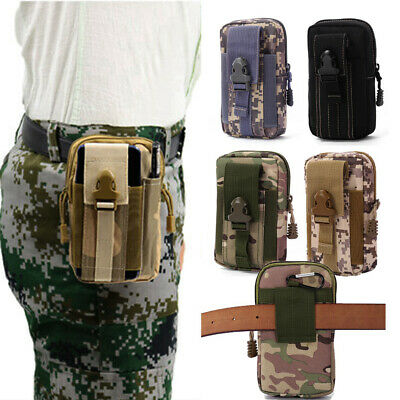 Running Pouch Belt Waist Bag Small Pocket  Military Pack Tactical Molle Pouches