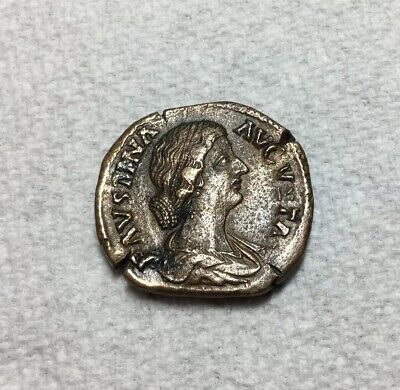 Roman Empire Imperial Coinage Faustian II AE Bronze As 147-175 AD