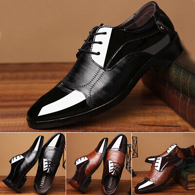 Latin Prom Large Size Sports Leather Shoes Pointed Men Wedding Dance Business