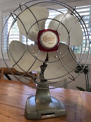 Vintage circa 1950's Revelair Celco Desk / Table Fan