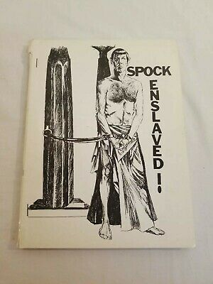 SPOCK ENSLAVED! Fanzine Novel Star Trek TOS GEN H/C Pre-Slash Aug 1974 First Ptg