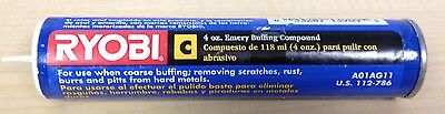 "Ryobi 4 oz. Emery ""C"" Buffing Compound Tube"