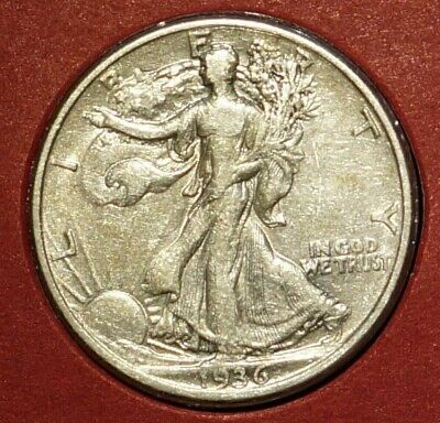 Silver 1/2 Dollar Walking Liberty 1937 UNITED STATES (76J)