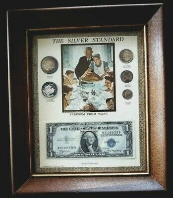 Great Gift NUMISTA Framed The Silver Standard currency 1974 UNITED STATES (186M)
