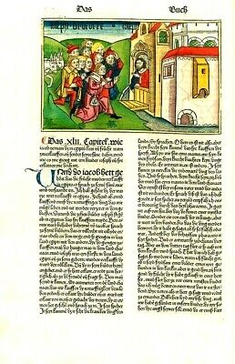 Koberger Bible Collection of FOUR Incunable   High Quality  Print  New