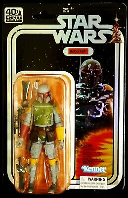 BOBA FETT SDCC 2019 EXCLUSIVE STAR WARS 40th BLACK SERIES HASBRO ACTION FIGURE