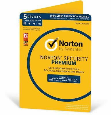 Symantec Norton internet security standard premium 1 3 5 PC AntiVirus 2020 2021