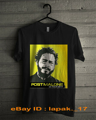 Post Malone 2019 Runaway Tour T Shirt Hollywood's Bleeding Size S to 3XL