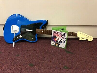 RARE XBOX 360 Official Wireless Rock Band Guitar Fender