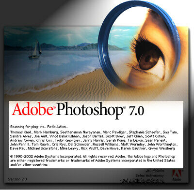 Adobe Photoshop 7.0 Vollversion für Windows 7, 8 ,10 Vista