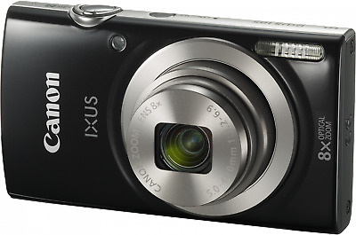 Canon IXUS 185 20MP Digital Camera Compact Zoom With Point and Shoot Simplicity