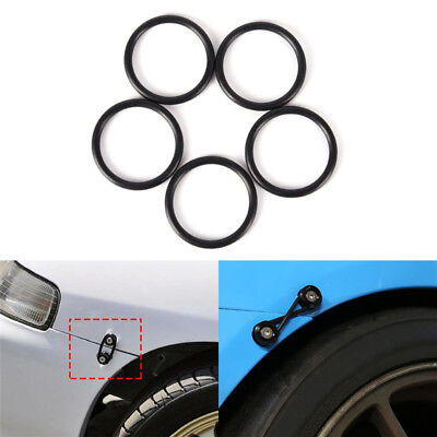 4Pcs Rubber O-Ring FastenerKit High Strength Bumper Quick Release ReplacementVe