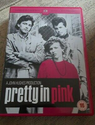 Pretty in Pink DVD CLASSIC 80S TEEN MOVIE Molly Ringwald ☆☆☆