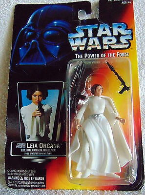 Princess Leia Organa Star Wars Power of the Force Action Figure - New