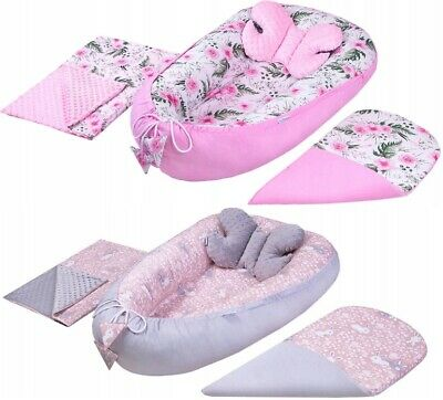Large Baby Set Cocoon Butterfly Blanket Infant Nest Reversible Cushion