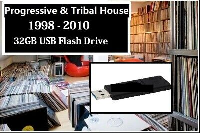 Progressive & Tribal Prog House 1998 - 2010 Vinyl Collection Converted to MP3