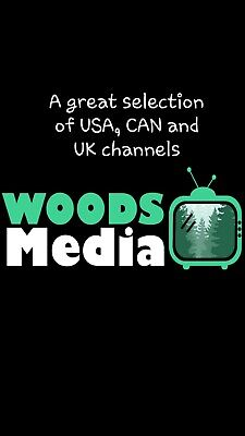 Budget Iptv service, no vod, but a good selection of USA, UK and CAN channels.