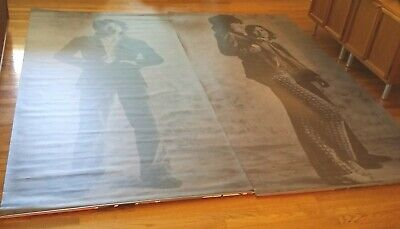 ROLLING STONES MICK JAGGER KEITH RICHARDS Two Huge 8' Banners =STICKY FINGERS=