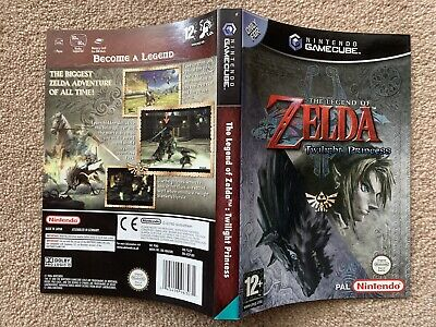 COVER INSERT ONLY Zelda Twilight Princess - GameCube Cover Insert Only