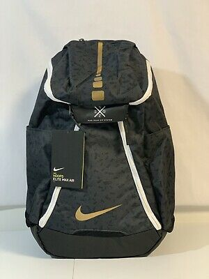 Details about Nike Hoops Elite Max Air Team 2.0 Black Graphic Unisex Backpack (CK0915 011) NWT