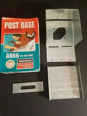 SIMPSON STRONG-TIE POST Base Adjustable With Stand Off Plate