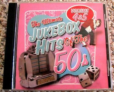 THE ULTIMATE JUKEBOX HITS OF THE 50S, VOLUME 4 & 5 2-CD SET Rock 'n' Roll