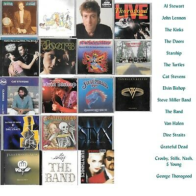 CLASSIC ROCK  GREATEST HITS  CDs         You Choose       (SHIPPING SPECIAL)