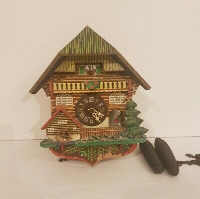 Black Forest Musical Mechanical Cuckoo Clock for Spairs and Repairs