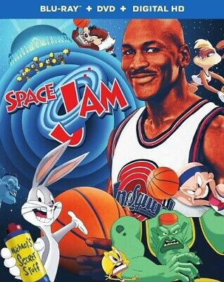 SPACE JAM (U.S. EXCLUSIVE STEELBOOK  Blu-ray/DVD/Digital HD) MICHAEL JORDAN