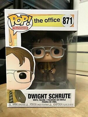 Funko Pop Dwight Schrute The Office #871 Television Authentic Hot In Hand