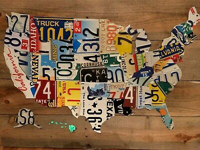 US: Mixed State Lots Auto Car Tag Plates Wooden USA License ... on state license plates, ohio license plates, preamble license plates, florida license plates, government license plates, germany license plates, pennsylvania license plates, front license plates,